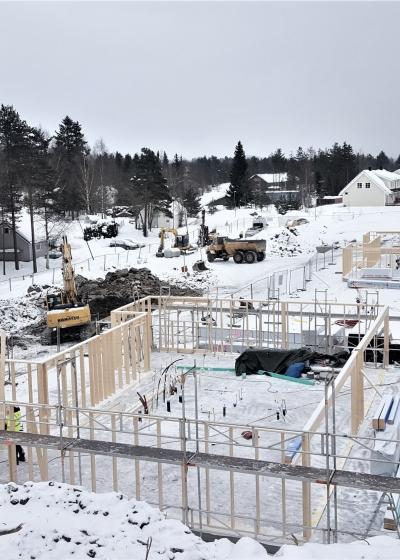 Vilbergskogen 46 leiligheter  i småhus
